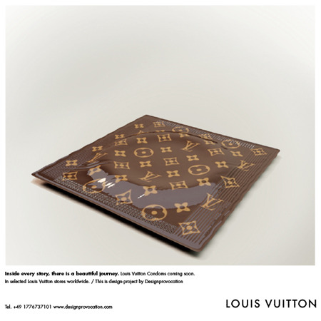 Sex AND Luxury: The LOUIS VUITTON Condom