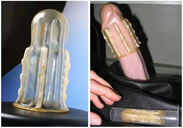 WTF Friday: Female Condom With Teeth???
